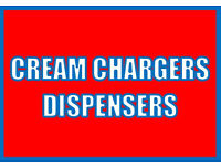 Cream Chargers & Dispensers for Whipped Cream.