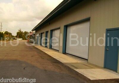 Durobeam Steel 30x60x17 Metal Garage I-beam Building Kits Auto Workshop Direct