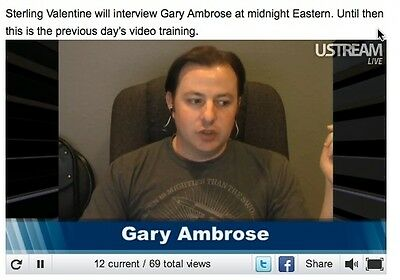 Gary Ambrose Internet Marketing Seminar Dvd