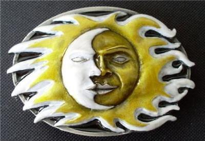 Sun and Moon Belt Buckle