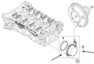 Pierburg Vacuum Pump, Brake System 7.01366.06.0 MINI COOPER 1.6 06-13 1166755691