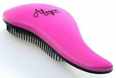 The Original Alayna® Detangling Brush – No More Tangles (Pink) Brushes & Combs