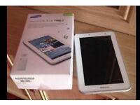 Samsung Galaxy Tab 2 GT 8gb boxed