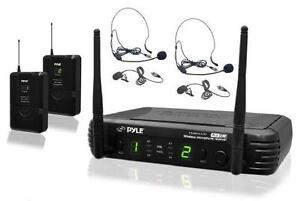 PYLE - PDWM3400 - Premier Series Professional UHF Microphone Sys