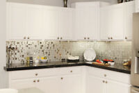 MISSISSAUGA KITCHEN BACKSPLASH TILES INSTALLATION.  647-293-5293