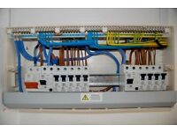 17th Edition Approved Electrician fully insured