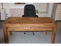 Goliath Oak Desk
