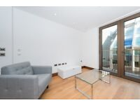 Designer Furnished 1 bedroom flat with private balcony in St. Dunstans House Fetter Lane, Holborn