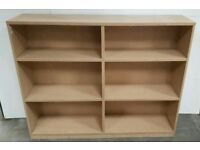 Double Wood Effect Bookcase !