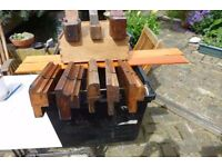 8 x Vintage Wood Planes - Various Types