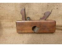 Rare Vintage Wooden Dado Molding Plane dual action cutting & molding - collectable