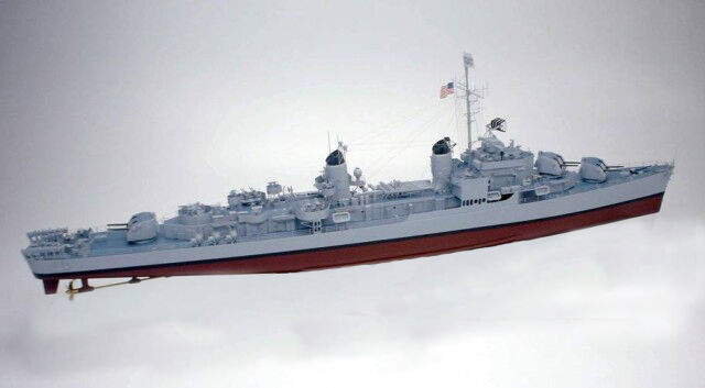 """Giant 1/96 Scale USS Gearing Class Destroyer Plans, Templates, Instructions 48"""""""