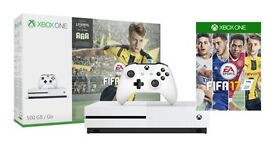 Xbox One S 500gb plus 6 games and 12 month membership (All New), or swap for Nintendo Switch