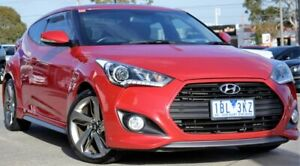 2014 Hyundai Veloster FS3 SR Coupe Turbo Veloster Red 6 Speed Sports Automatic Hatchback Ferntree Gully Knox Area Preview