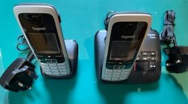 Twin Dect cordless phones and Answering machine, used but in excellent condition