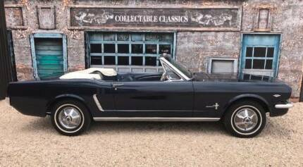 COLLECTABLE CLASSIC CARS - 1965 Ford Mustang Convertible Strathalbyn Alexandrina Area Preview