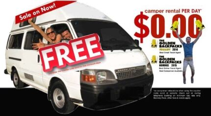 FREE CAMPERVAN RENTALS* WITH FREE FUEL* - Australia wide Cairns 4870 Cairns City Preview