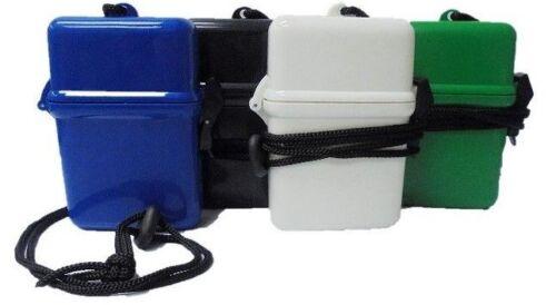 Eclipse Crushproof Waterproof Hard Plastic Cigarette Case, Asstd Colors, 100