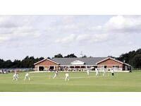 Cricket player required for friendly East London cricket club