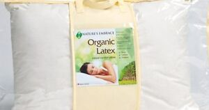 Never used new organic latex pillows