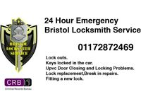 24/7 Locksmith all over Bristol