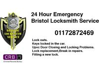 Bristol and Bath Locksmith service 24/7 - Call Now 01172872469‎