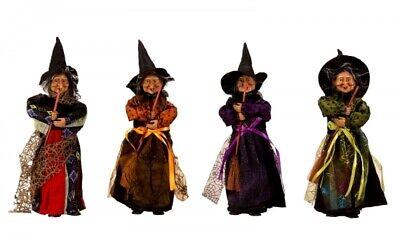 Hexe-stehend-36 cm--zum Befüllen-Befana-Hexenfiguren-Fasching-Halloween-Fasnet