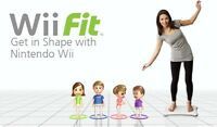 Wii Fit * Challenge your family and friends to get in shape