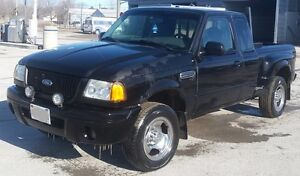 2004 Ford Ranger Edge Manual Pick-Up Truck - Good Condition