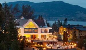 One Week at Beautiful Resort on Lake Okanagan!