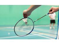 Badminton Players Needed - LADIES only, sorry we have enough men