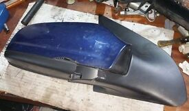 Vauxhall Astra Mk5 O/S Wing Mirror In Blue (2005)