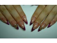 Special offer - Manicure, sculpturing nail, nail design & pedicure.