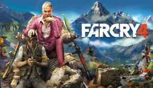 PS4 Games - Far Cry 4 - Dirt 4- MineCraft The complete adventure