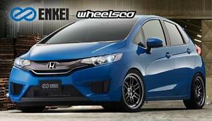 Enkei RPF1 15x7 4x100 Track Setup For Honda ( Fit ) - WHEELSCO