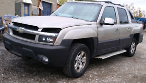 Parting out a 2004 chevrolet avalanche