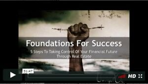 Free Video Reveals 5 Steps For Financial Freedom in Real Estate!