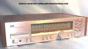 Vintage JVC R-S11 AM/FM Stereo Receiver, Made in Japan