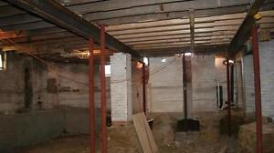 Basement Lowering - Add headroom to your basement! *Winter Pricing*