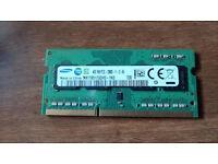 2 x 4gb DDR3 Memory