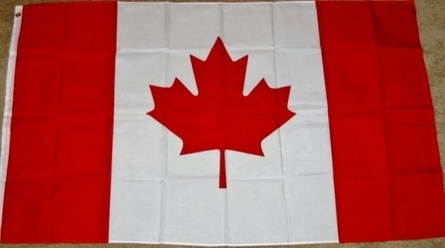 4X6 CANADA FLAG VERY LARGE CANADIAN BANNER 4