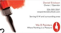 We 'R' Painters - Call to book your free quote!
