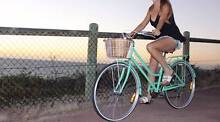 Vintage Style Mint Green Bicycle for sale *with basket Butler Wanneroo Area Preview