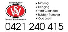 Western Sydney Mowing and Maintenance Quakers Hill Blacktown Area Preview