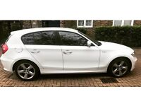 BMW 1 Series AUTO WHITE 5dr 2.0 118d Sport GREAT SPEC AND COLOUR