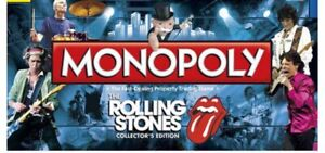 Rolling Stones Monopoly (Sealed)