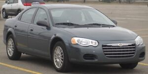 Women Driving - 2004 Chrysler Sebring SE Sedan - Excellent Shape