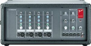 FENDER 4-Channel Powered Mixer with Reverb (LX-1504) $169.99