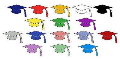 Graduation Cap Confetti Die Cuts - 100 pcs. 1