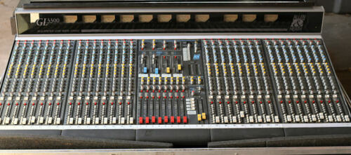 Allen & Heath GL3300 32 Channel Audio Mixing Console w/travel case
